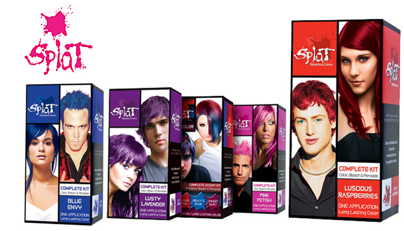 Vertical Sales And Marketing Splat Hair Color